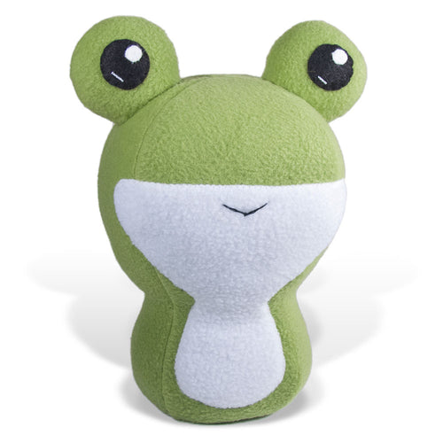 "Frog Plushie Stuffed Toy - Large - 10"" - CraftyAlien.com"