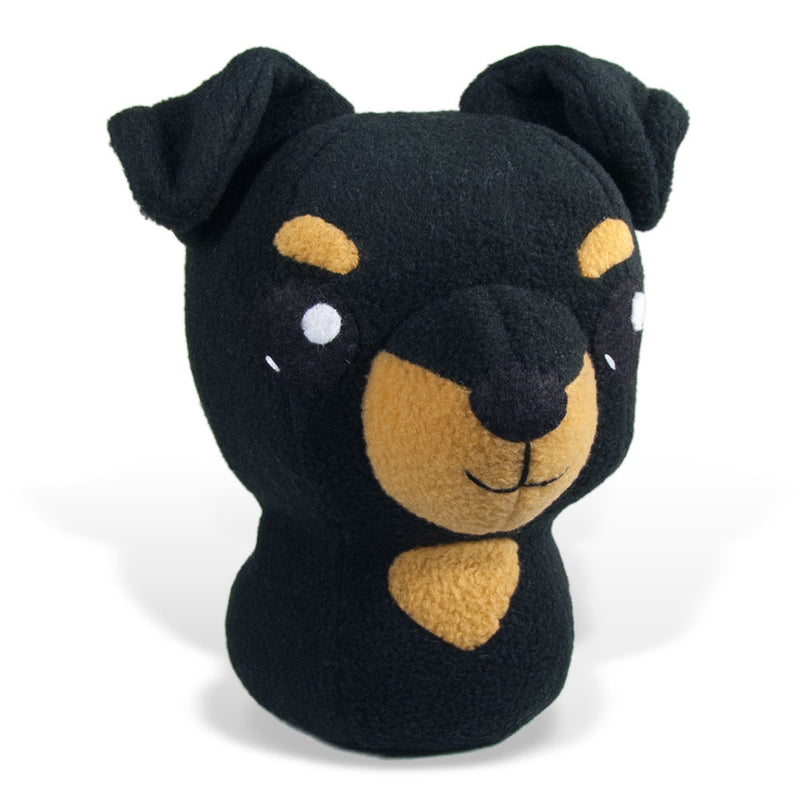 "Manchester Terrier Plushie Stuffed Toy - Large - 9"" - CraftyAlien.com"