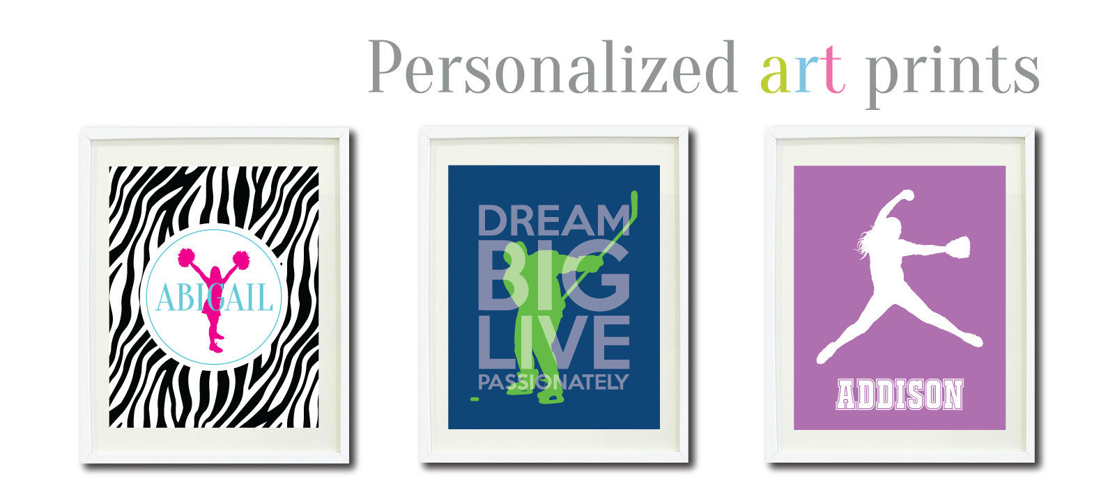 Personalized art prints