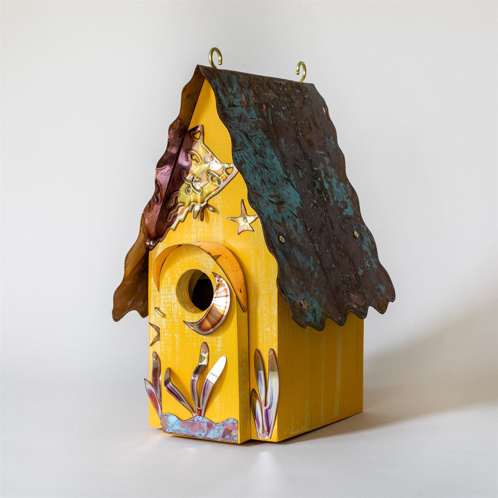 Peeking Cat Birdhouse