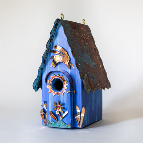 Leaping Rabbit Birdhouse