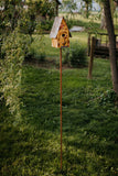 Copper Birdhouse Pole