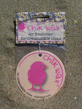 chik wax air freshener for creamsikle chiks