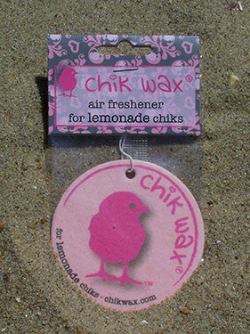 chik wax air freshener for lemonade chiks