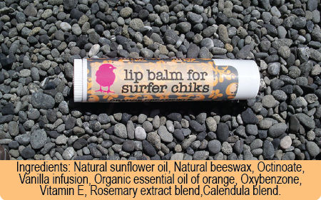 chik wax orange creamsikle lip balm