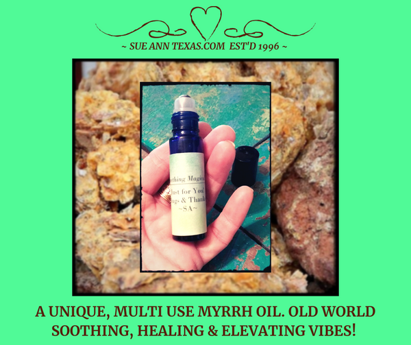 A Unique Myrrh Attar Oil! Old World Soothing, Healing, Stabilizing & Elevating Vibes!