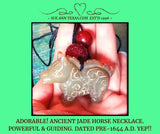 Rare Ancient Horse Dated Pre-1644 A.D. with Wise, Wonderful, Happy & Elevating Guide Energies!
