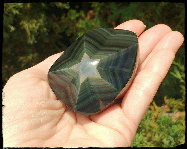 SOLD: Gorgeous Rainbow Obsidian Star - SueAnnTexas.Com & The Shoppe