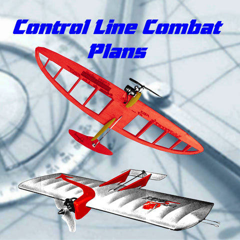 Model Combat Airplanes Plans