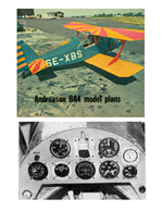 Full Size Printed Peanut Scale Plans Andreason BA-4B all seem to look right and fly right also.