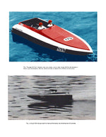 "FULL SIZE PLANS L 31""  B 11"" .21  For Radio Control deep vee racing boat DUNLAP 3.5 VEE"