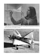 Full size printed Scale Peanut plans Dean Delt-Air 250 model proved to be a very stable flier