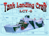 Buil a Semi Scale 1:30- 1:35  ank Landing Craft LCT-6 for radio control Full Size Printed plan