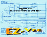 Build a .40-size deep vee boat of easy wood construction Full Size Printed Plan & Article
