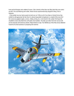 "Full size plans F86 SABRE JET Control Line  Scale 1 1/8"" =1ft  Wingspan 41""  Dyna-Jet or Ducted Fan"