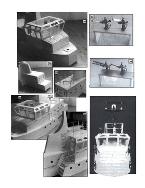Digital full size plans on Cd Scale 1:30 Dutch General Duties Harbour Tug HAVENDIENST 4