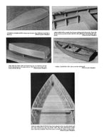 Full Size Printed Plan excellent beginning project Midwest Flatiron Skiff Display Model