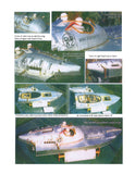 Build Vintage 1:12 Scale MISS BRITAIN III Hubert Scott-Paine With New Speed Boat Full Size Printed Plans