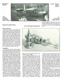 "thames steam launch 1:12 Scale 42"" full size printed plan for radio control"