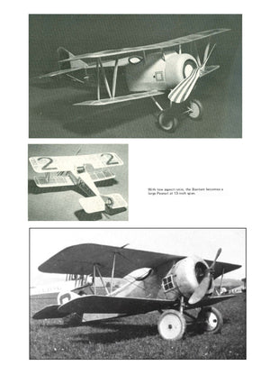 "Full size printed plans Peanut Scale ""GRAHAM BANTAM"" should not present difficult problems"