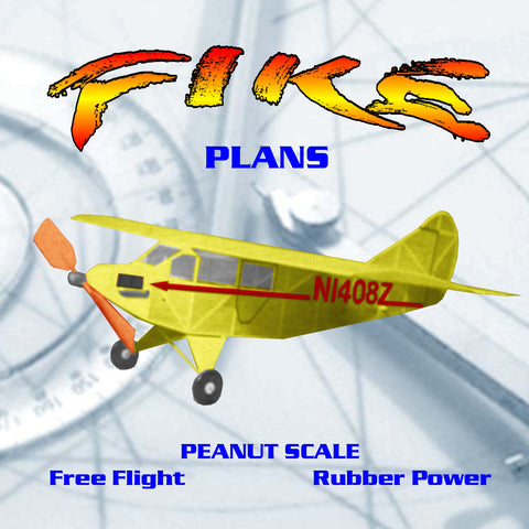 Full Size Printed Peanut Scale Plans  FIKE With a duration of 60 to 75 seconds indoors