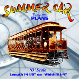 Full size printed plan A SUMMER CAR Nantaket Beach Line of the New York, New Haven & Hartford,