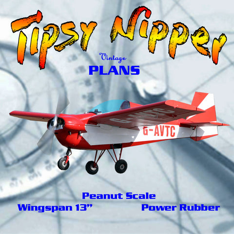 "Full size printed plans Peanut scale ""Tipsy Nipper"" in a contest you perhaps will get some more scale points"