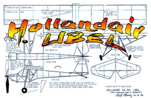 "Full size printed plans Peanut Scale Hollandair LIBEL Here is a simple little Dutch ""Miami"" Peanut"