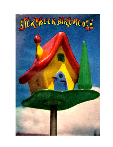 Full Size Printed Plans STORYBOOK BIRDHOUSE Here's a birdhouse that's different,