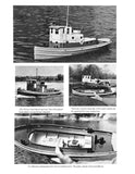 "Esso Honduras Tug 27 1/2"" 1:24 scale full size printed plans for radio control"