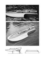 "Build a Scale 1 1/2""=1' for Radio Control  L 44"" TIGER Hydroplane Full size printed plan"