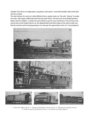 Full size printed plan Trolley Work Cars  Fairmount Park Transit Co A 1945 PLAN