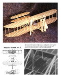 "Full size printed plans Peanut Scale ""WRIGHT FLYER NO.3"" Structure is actually quite simple"