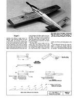 "Full Size Printed Plan 1974 1/2 A Control Line Speed EAGLE I Wingspan 18 3/4""  Engine 1/2A"
