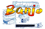 This is for Printed Plans MAKE YOUR OWN  BANJO