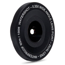Watershot® PRO 0.35X Wide Angle Lens Port Dual-Lens