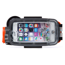 Watershot® PRO Line Housing iPhone® 7 Plus / 8 Plus Dual-Lens Black/Garibaldi