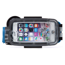 Watershot® PRO Line Housing Kit iPhone® 7 Plus Dual-Lens Black/Snorkel Blue