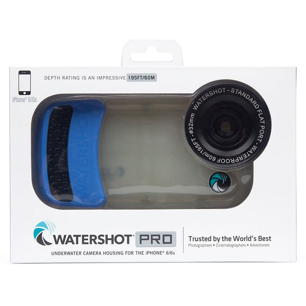 Watershot® PRO Line Housing iPhone® 6(s) - Jellyfish/Snorkel Blue PRO   **CLOSEOUT SALE**