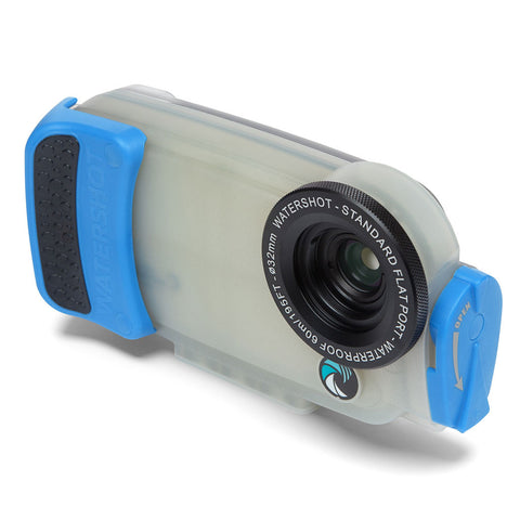 Watershot® PRO Line Housing iPhone® 6(s) - Jellyfish/Snorkel Blue PRO