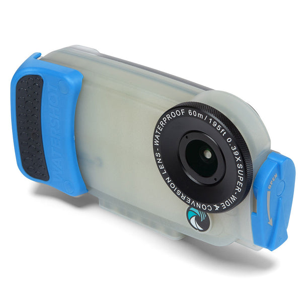 Watershot® PRO Line Housing Kit iPhone® 6(s) - Jellyfish/Snorkel Blue PRO