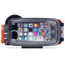 Watershot® PRO Line Housing iPhone® 7 Black/Garibaldi