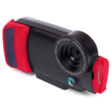 Watershot® PRO Line Housing iPhone® 7 / 8 Black/Red Snapper