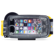 Watershot® PRO Line Housing iPhone® 7 / 8 Black/Sunfish