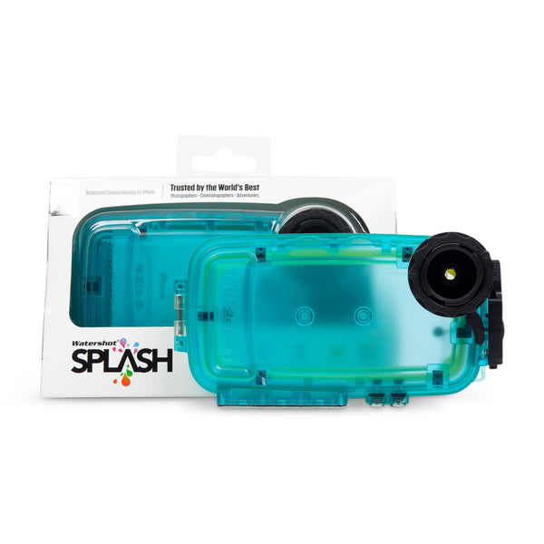 Watershot® SPLASH Housing Kit iPhone® 5/5c/5s/SE Cyan