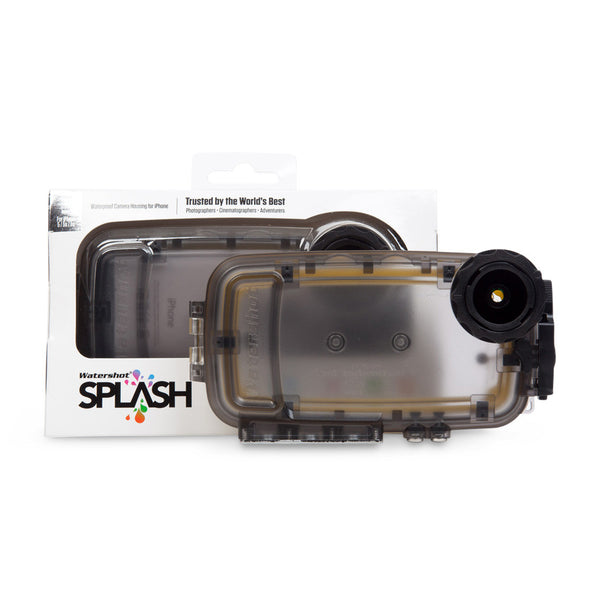Watershot® SPLASH Housing Kit iPhone® 5/5c/5s/SE Black