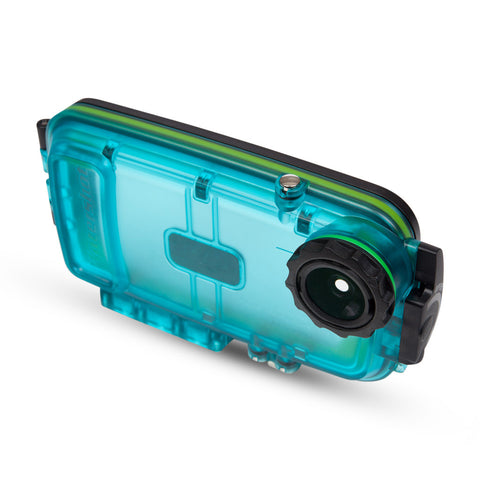 Watershot® SPLASH Housing Kit iPhone® 6/6s Cyan ***CLOSEOUT SALE***
