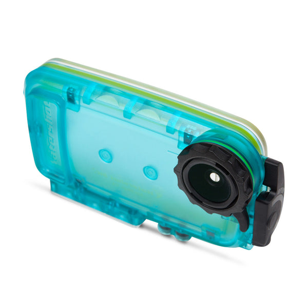 Watershot® SPLASH Housing Kit iPhone® 5/5c/5s/SE Cyan ***CLOSEOUT SALE***