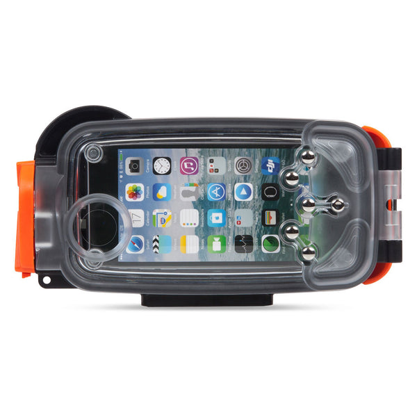 Watershot® PRO Line Housing Kit iPhone® 6(s) Black/Garibaldi WS