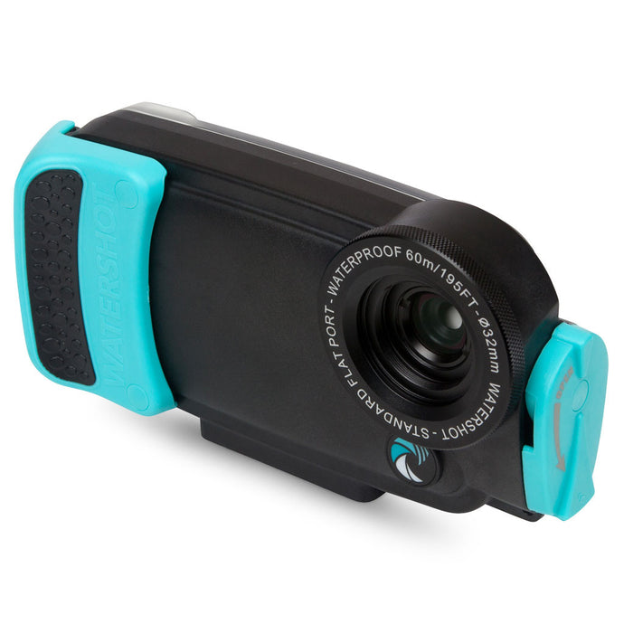 Watershot® PRO Line Housing Kit iPhone® 6(s) Black/Limpet Shell